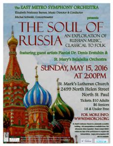 20160515 Soul of Russia Flyer