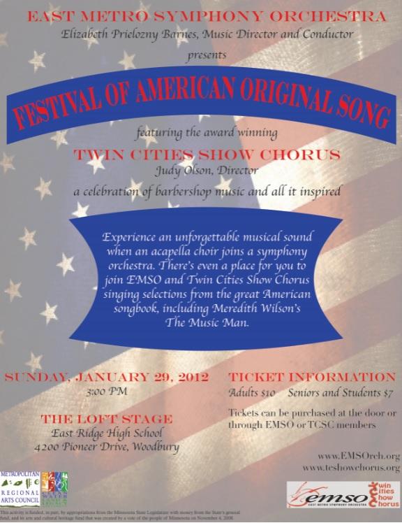 Festival of American Original Song